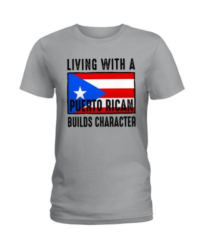 PUERTO RICAN BUILDS CHARACTER