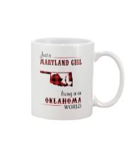 MARYLAND GIRL LIVING IN OKLAHOMA WORLD Mug thumbnail