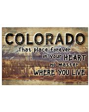 COLORADO THAT PLACE FOREVER IN YOUR HEART 24x16 Poster front