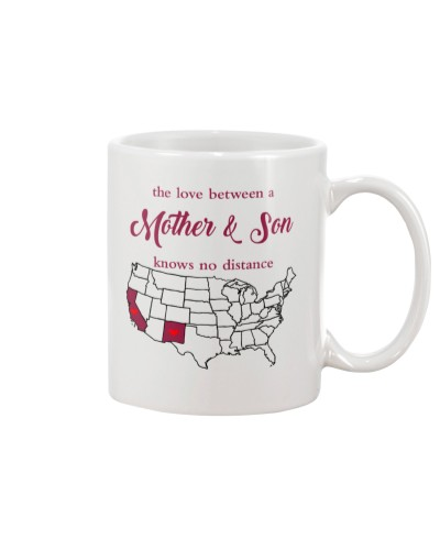NEW MEXICO CALIFORNIA THE LOVE MOTHER AND SON