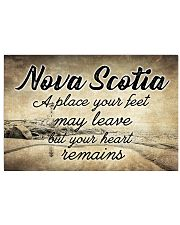 NOVA SCOTIA PLACE YOUR HEART REMAINS 24x16 Poster front