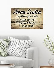 NOVA SCOTIA PLACE YOUR HEART REMAINS 24x16 Poster poster-landscape-24x16-lifestyle-01
