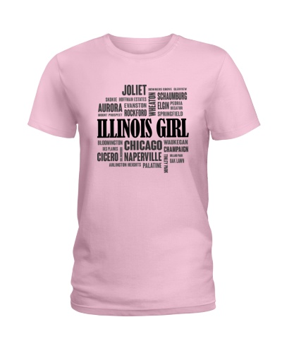ILLINOIS GIRL AND CITY