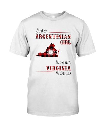 ARGENTINIAN GIRL LIVING IN VIRGINIA WORLD