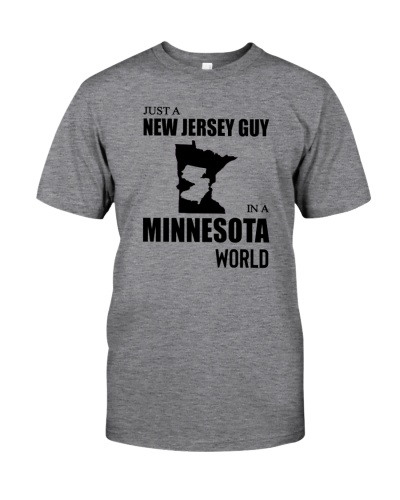 JUST A NEW JERSEY GUY IN A MINNESOTA WORLD