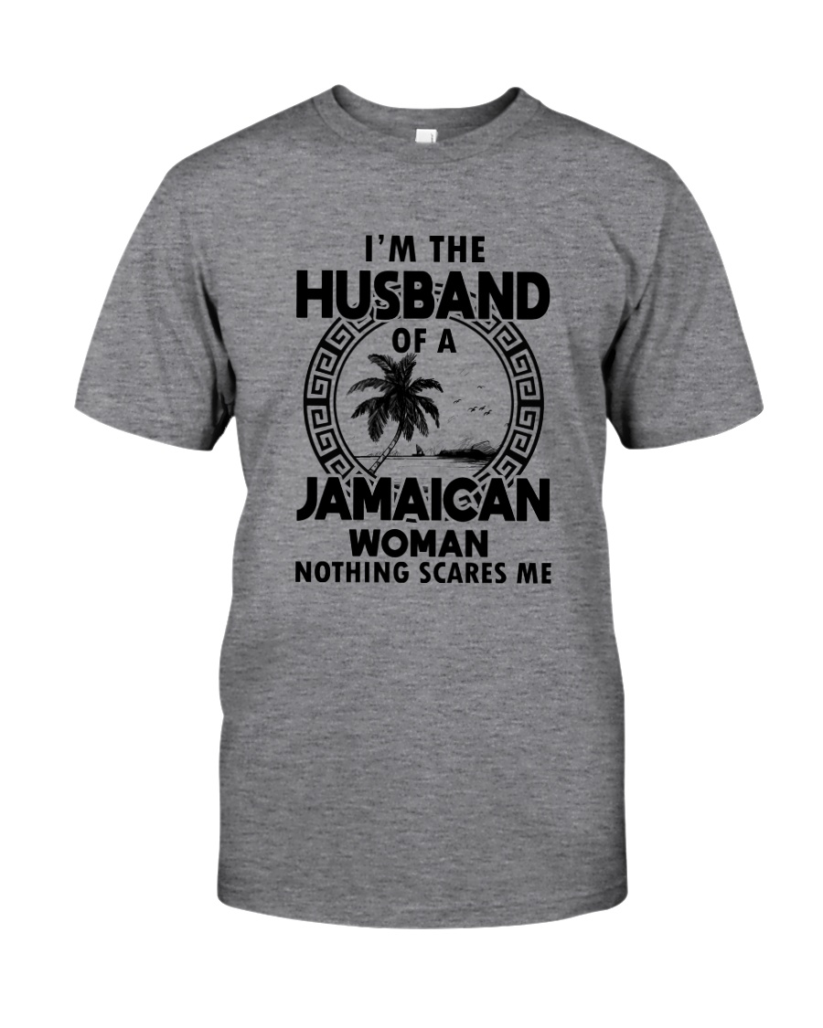 I'M THE HUSBAND OF A JAMAICAN WOMAN Classic T-Shirt