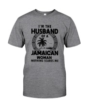 I'M THE HUSBAND OF A JAMAICAN WOMAN Classic T-Shirt front
