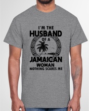 I'M THE HUSBAND OF A JAMAICAN WOMAN Classic T-Shirt garment-tshirt-unisex-front-03