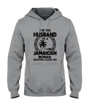 I'M THE HUSBAND OF A JAMAICAN WOMAN Hooded Sweatshirt thumbnail