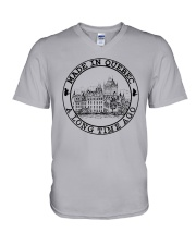 MADE IN QUEBEC A LONG TIME AGO V-Neck T-Shirt thumbnail