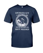 LOUISIANA GUY I AM WHO I AM Classic T-Shirt front