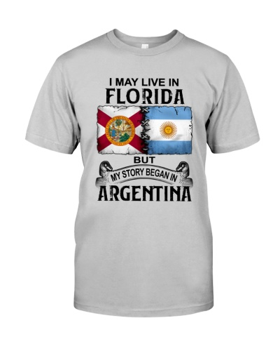 LIVE IN FLORIDA BEGAN IN ARGENTINA