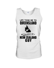 NEW ZEALAND GUY LIFE TOOK TO QUEENSLAND Unisex Tank thumbnail
