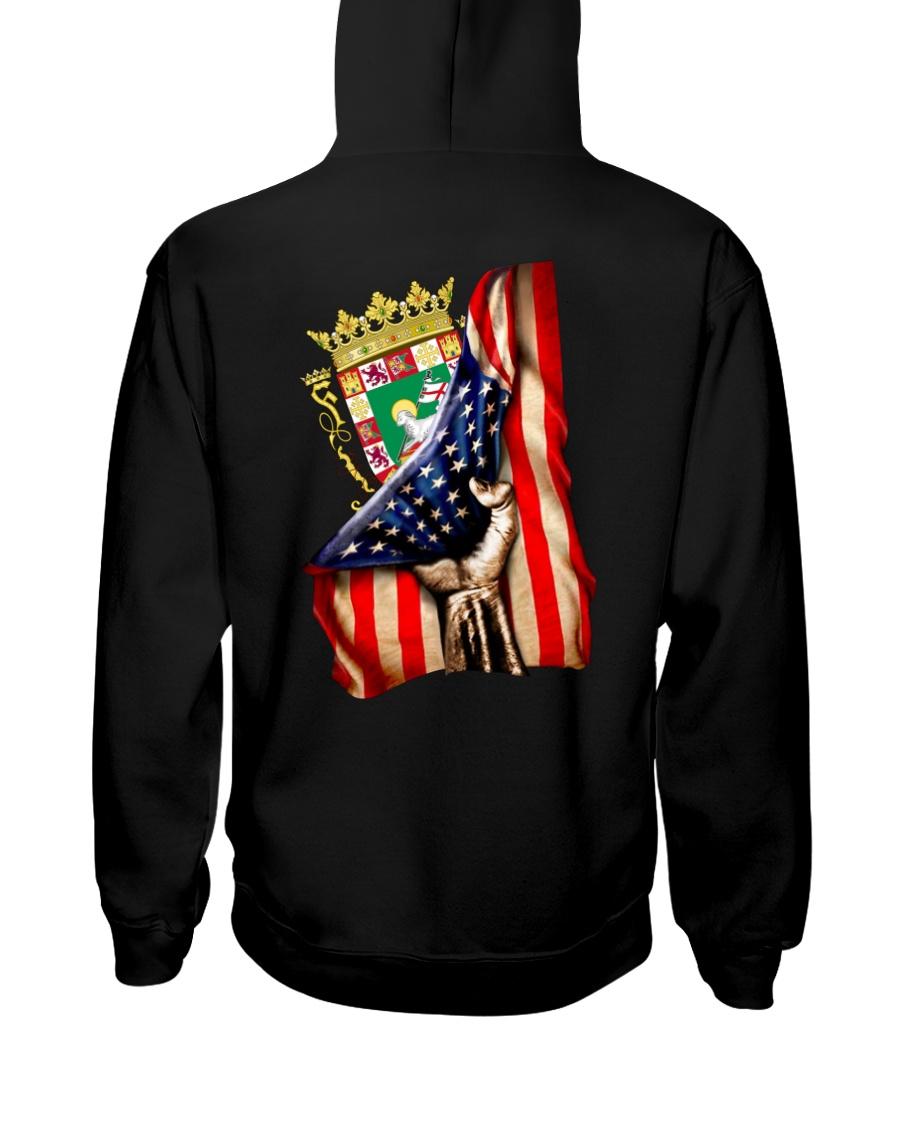 PUERTO RICO AMERICA FLAG Hooded Sweatshirt