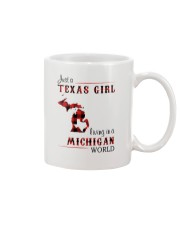 TEXAS GIRL LIVING IN MICHIGAN WORLD Mug thumbnail