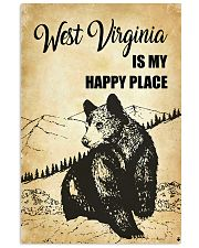 WEST VIRGINIA IS MY HAPPY PLACE 11x17 Poster front