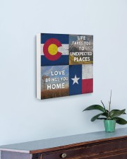 TEXAS COLORADO LOVE BRINGS YOU HOME 16x16 Gallery Wrapped Canvas Prints aos-canvas-pgw-16x16-lifestyle-front-01