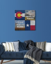 TEXAS COLORADO LOVE BRINGS YOU HOME 16x16 Gallery Wrapped Canvas Prints aos-canvas-pgw-16x16-lifestyle-front-06