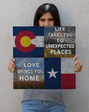 TEXAS COLORADO LOVE BRINGS YOU HOME 16x16 Gallery Wrapped Canvas Prints aos-canvas-pgw-16x16-lifestyle-front-25