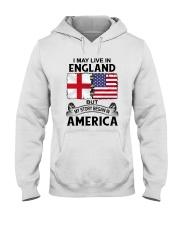LIVE IN ENGLAND BEGAN IN AMERICA ROOT WOMEN Hooded Sweatshirt thumbnail