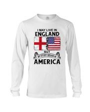 LIVE IN ENGLAND BEGAN IN AMERICA ROOT WOMEN Long Sleeve Tee thumbnail