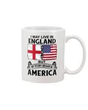 LIVE IN ENGLAND BEGAN IN AMERICA ROOT WOMEN Mug thumbnail