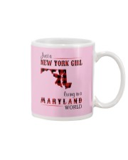 NEW YORK GIRL LIVING IN MARYLAND WORLD Mug thumbnail