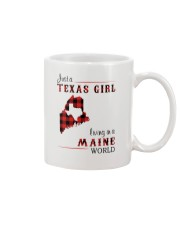 TEXAS GIRL LIVING IN MAINE WORLD Mug thumbnail