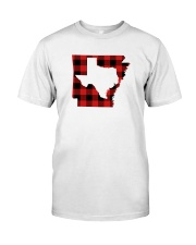 TEXAS IN ARKANSAS WORLD Classic T-Shirt front