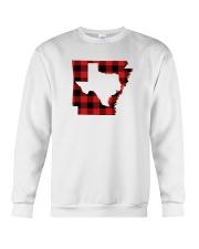 TEXAS IN ARKANSAS WORLD Crewneck Sweatshirt thumbnail