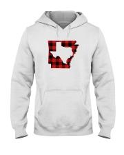 TEXAS IN ARKANSAS WORLD Hooded Sweatshirt thumbnail