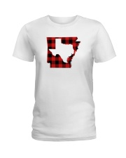 TEXAS IN ARKANSAS WORLD Ladies T-Shirt thumbnail