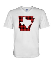 TEXAS IN ARKANSAS WORLD V-Neck T-Shirt thumbnail