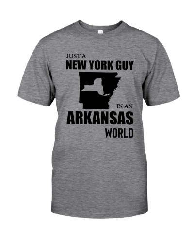 JUST A NEW YORK GUY IN AN ARKANSAS WORLD