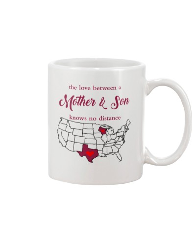 WISCONSIN TEXAS THE LOVE MOTHER SON