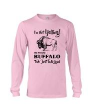 I'M NOT YELLING I'M FROM BUFFALO Long Sleeve Tee thumbnail