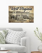 WEST VIRGINIA PLACE YOUR HEART REMAINS 24x16 Poster poster-landscape-24x16-lifestyle-01