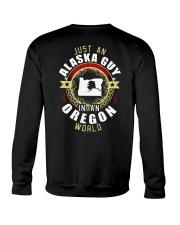 ALASKA GUY IN OREGON WORLD Crewneck Sweatshirt thumbnail
