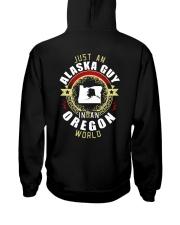 ALASKA GUY IN OREGON WORLD Hooded Sweatshirt thumbnail