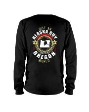 ALASKA GUY IN OREGON WORLD Long Sleeve Tee thumbnail