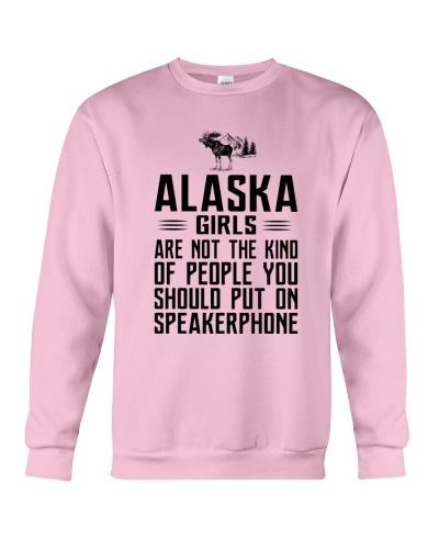 ALASKA GIRLS NOT THE KIND OF PERSON ON SPEAKER