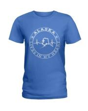 ALASKA LIVES IN MY HEART Ladies T-Shirt thumbnail