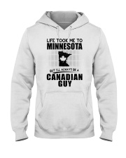 CANADIAN GUY LIFE TOOK TO MINNESOTA Hooded Sweatshirt thumbnail