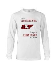 LOUISIANA GIRL LIVING IN TENNESSEE WORLD Long Sleeve Tee thumbnail
