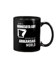 JUST A MINNESOTA GUY LIVING IN ARKANSAS WORLD Mug thumbnail