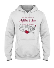 MAINE TEXAS THE LOVE BETWEEN MOTHER AND SON  Hooded Sweatshirt thumbnail