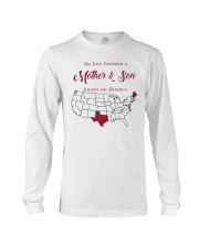 MAINE TEXAS THE LOVE BETWEEN MOTHER AND SON  Long Sleeve Tee thumbnail