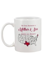 MAINE TEXAS THE LOVE BETWEEN MOTHER AND SON  Mug back