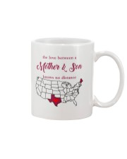 MAINE TEXAS THE LOVE BETWEEN MOTHER AND SON  Mug front