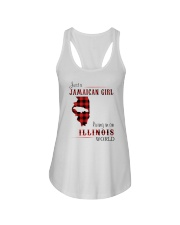 JAMAICAN GIRL LIVING IN ILLINOIS WORLD Ladies Flowy Tank thumbnail